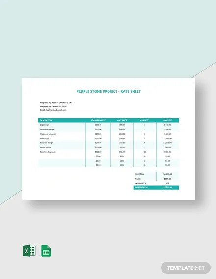 Start tracking time — it's free! 25 Freelancer Sheet Templates Free Downloads Template Net
