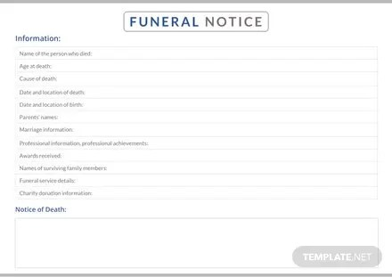 Meeting Notice Template: Download 23+ Notices in Word