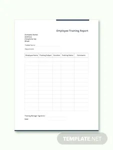 Employee Handover Report Template in Microsoft Word, Apple