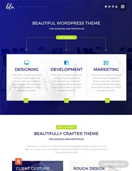 162 free website templates