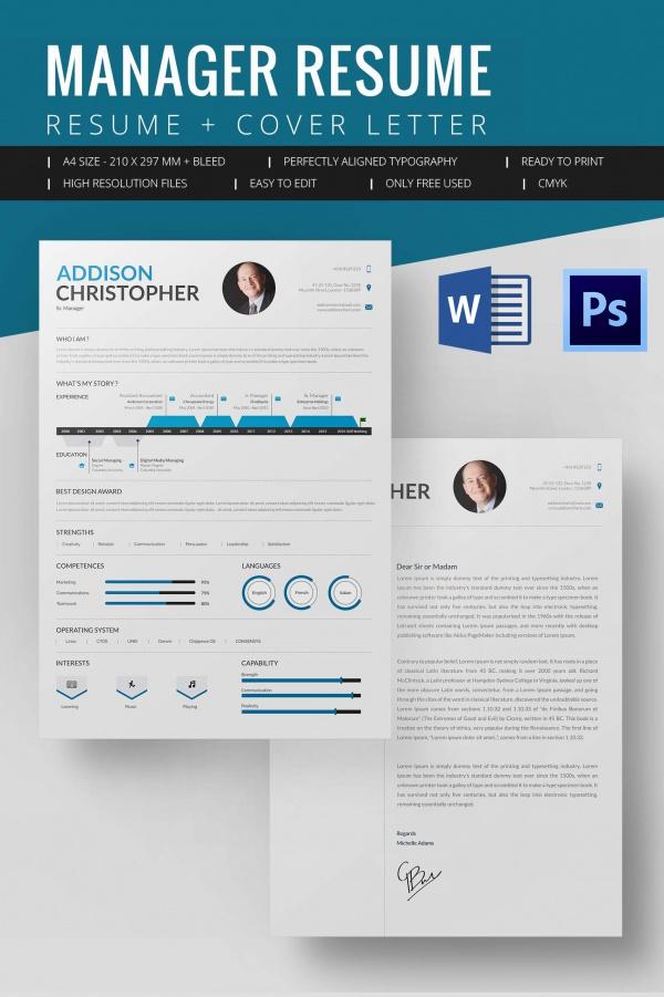 free executive resume template resume sample