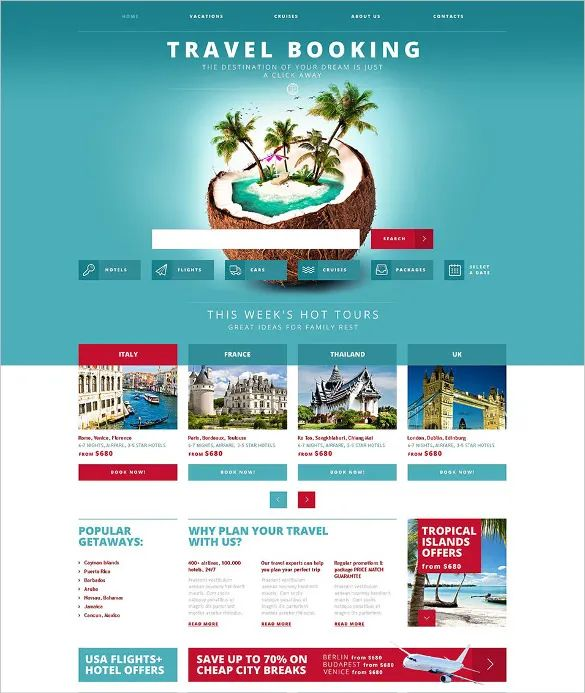travel agent template