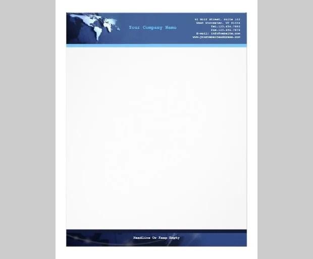 10 Best Premium Letterhead Design Free Templates Free