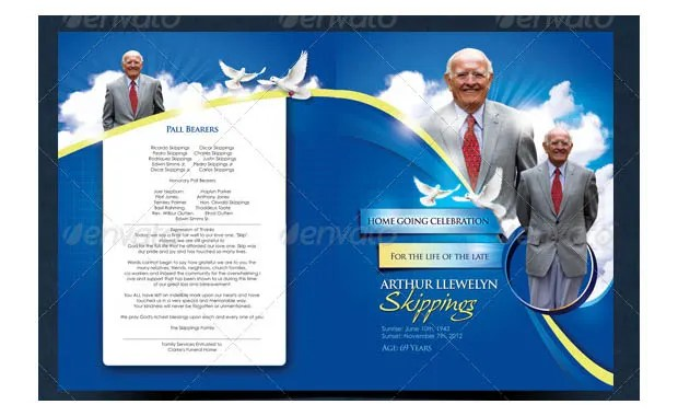 20 Funeral Program Templates Free Word Excel PDF PSD Format Download Free Amp Premium