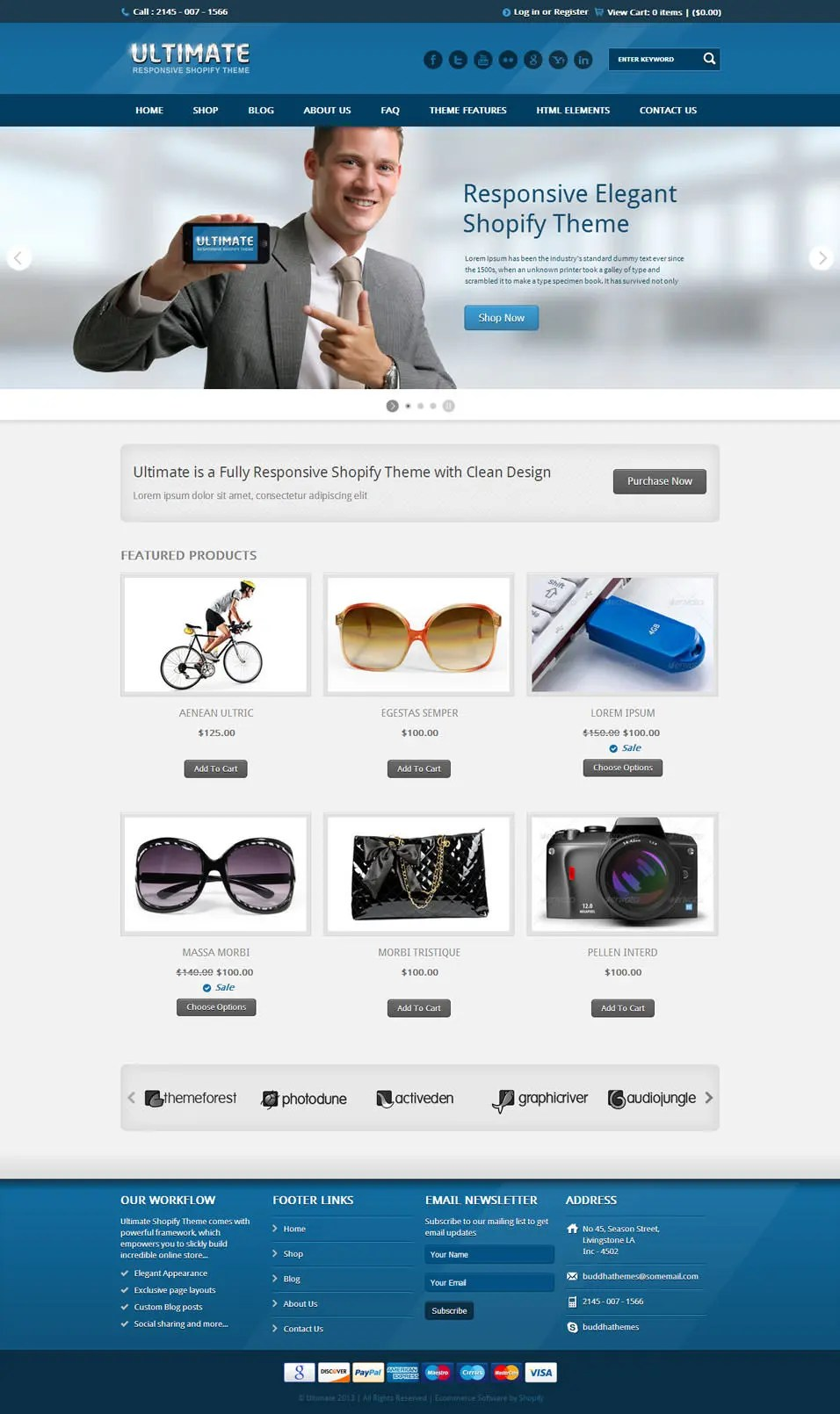 Best SEO Shopify Themes  Free  Premium Templates