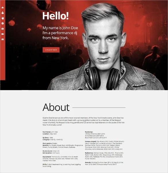 43 DJ Website Themes & Templates Free & Premium Templates