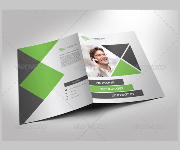 12 Modern Business Brochure PSD Templates Free
