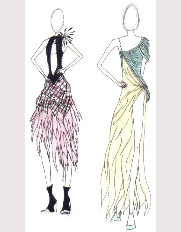 49 Best Fashion Design Sketches For Your Inspiration