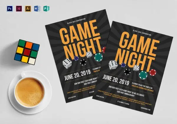 20 Amazing Online Gaming Flyer Templates Free & Premium Templates