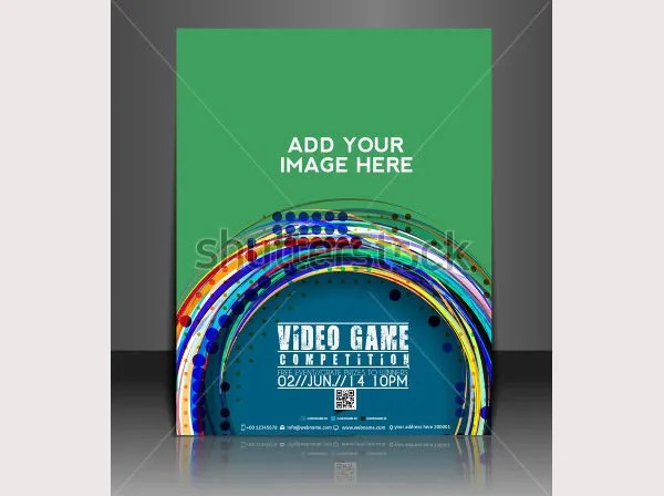 20 Amazing Online Gaming Flyer Templates Free & Premium Templates