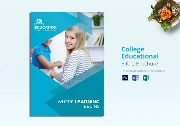 College Brochure Templates – 41 Free JPG PSD Indesign Format