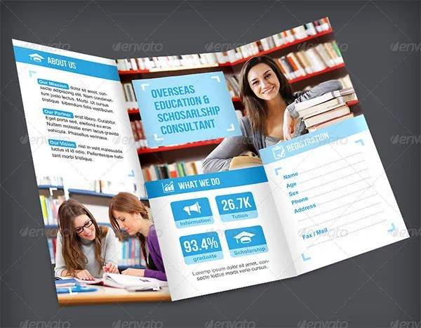 College Brochure Templates – 41 Free JPG PSD Indesign