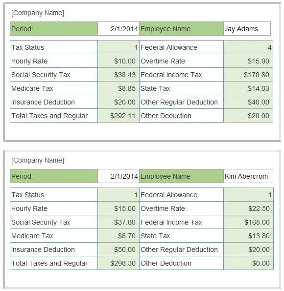 free hourly payroll calculator