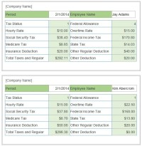 free hourly payroll calculator
