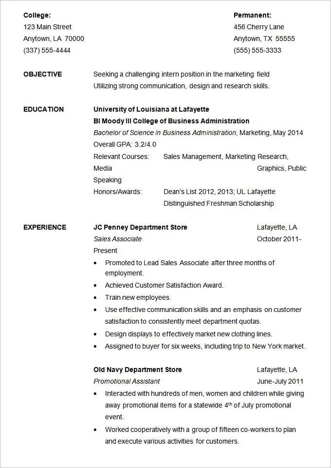 19 Resume Examples PDF DOC Free & Premium Templates