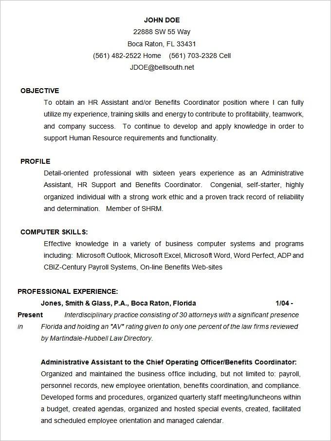 68 CV Templates  PDF DOC PSD AI  Free  Premium Templates