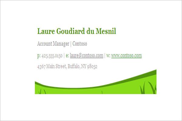 create custom email signature