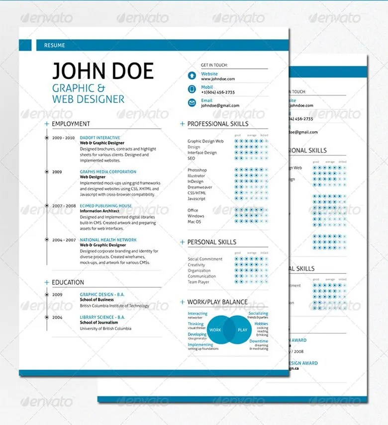 Best Resume Formats – 40 Free Samples Examples Format