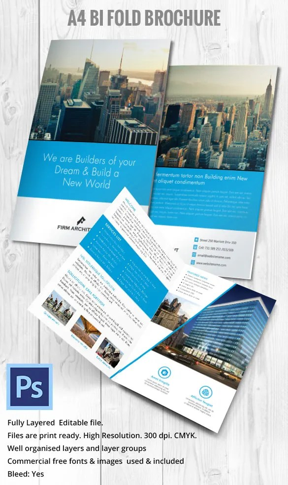 22 Modern Brochure Design Templates  PSD InDesign Illustration Documents Download  Free