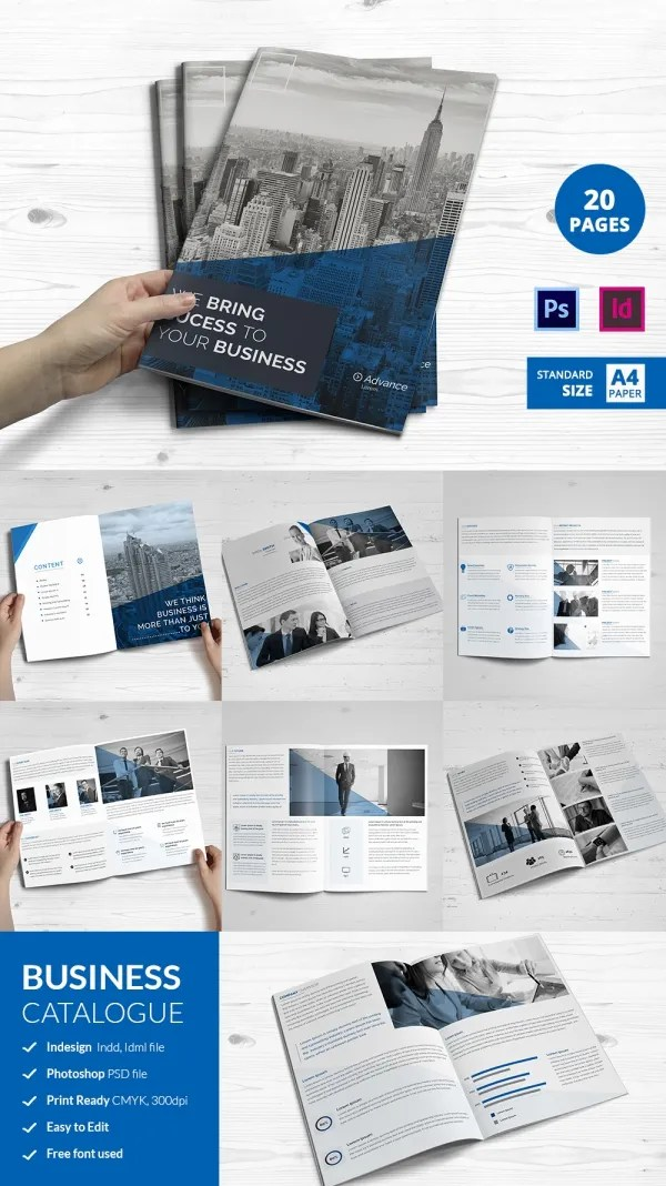 30 Corporate Brochure Templates PSD Designs Free