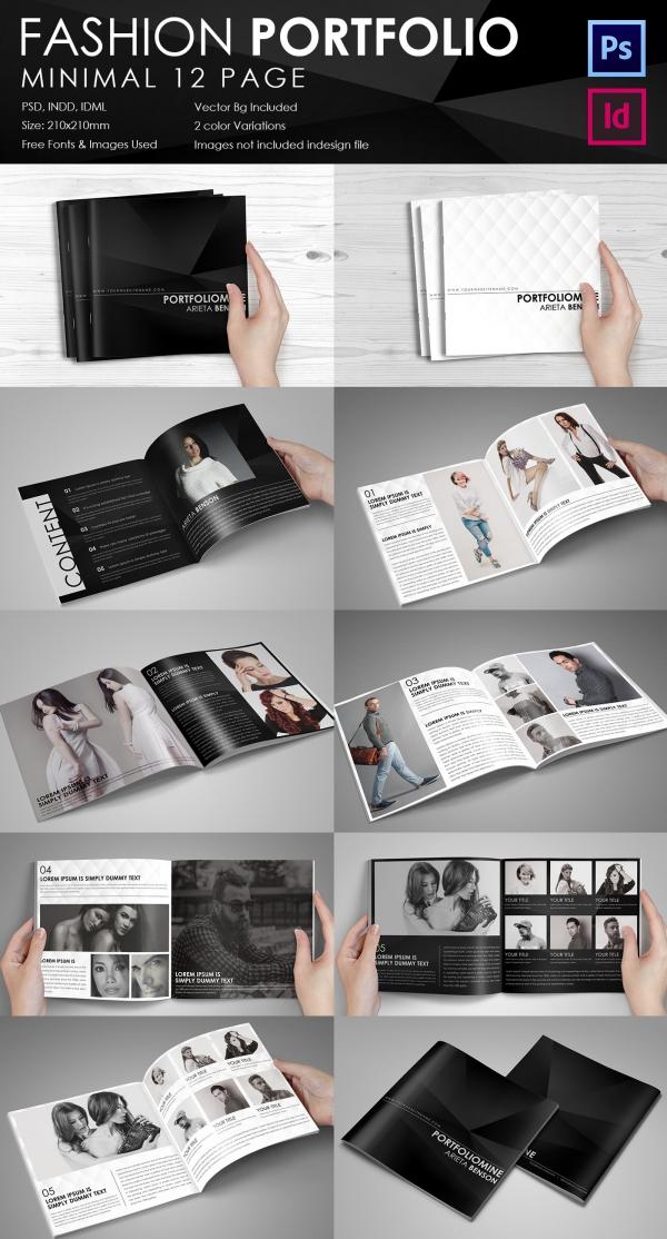 free psd catalog template
