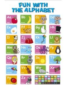 Printable alphabet poster also best posters  designs free premium templates rh template