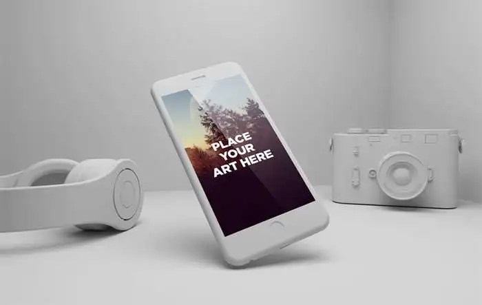 55 Best IPhone6 PSD MockUp Templates & Designs Free