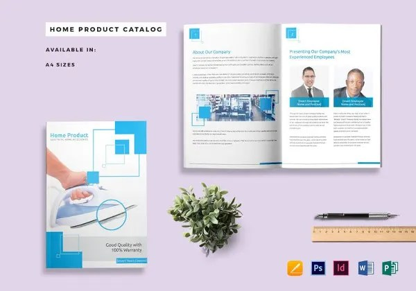 48 Professional Catalog Design Templates PSD AI Word
