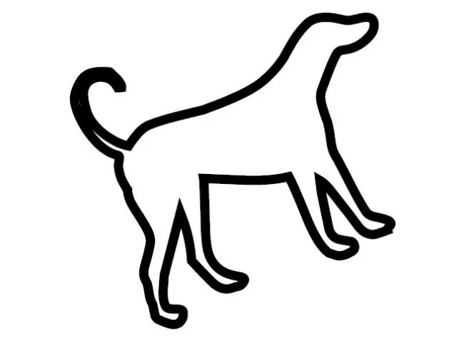 Free Papercraft Template: Puppy Template