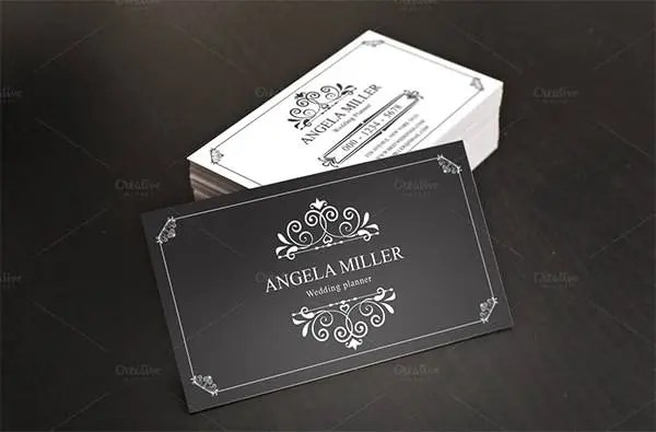 23 Best Vintage Business Card Templates  AI Ms Word InDesign  Free  Premium Templates