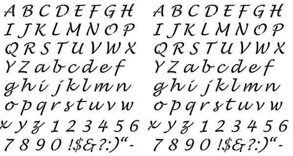 Alphabet Stencils Free & Premium Templates