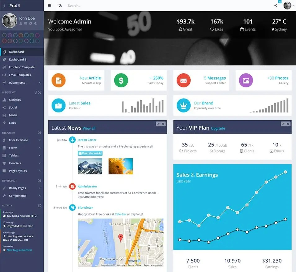 35 Best Bootstrap Design Templates & Themes Free