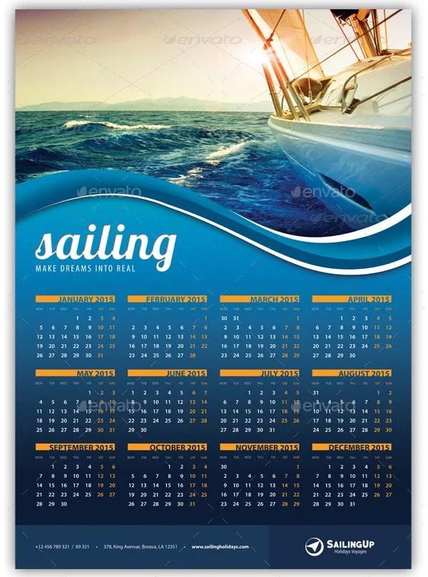 22 Best 2016 Calendar Templates to Print  Free  Premium