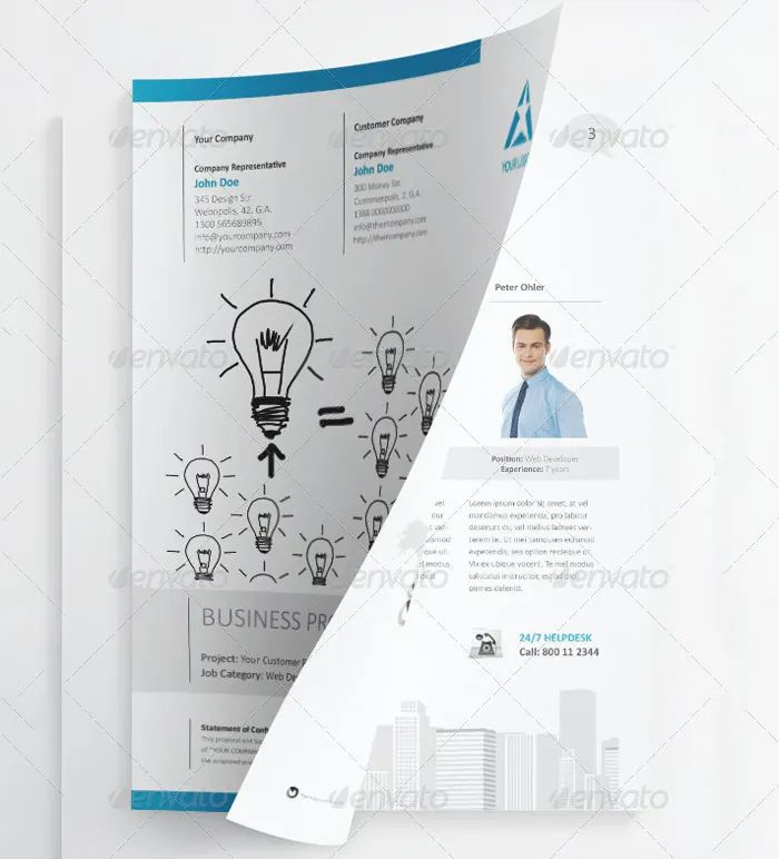 project proposal template free