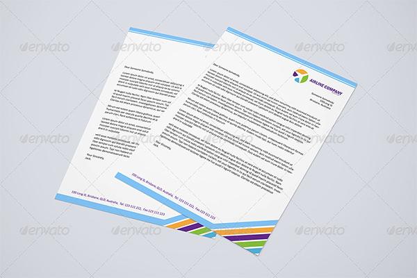 55 psd letterhead templates