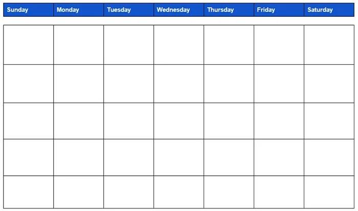 15+ Best Google Calendar Templates - Free PSD, Vector EPS ...