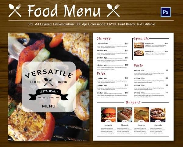 Restaurant Flyer Template – 56 Free Word PDF PSD EPS