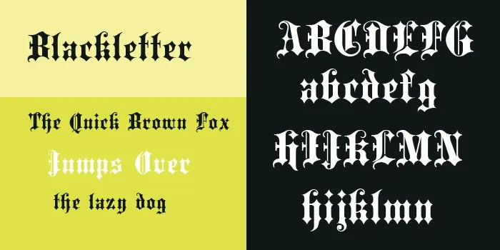 25 Gothic Fonts Free Fonts Free & Premium Templates