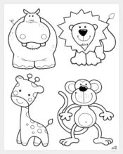 1545+ Free Animal Templates, Printable Animal Crafts