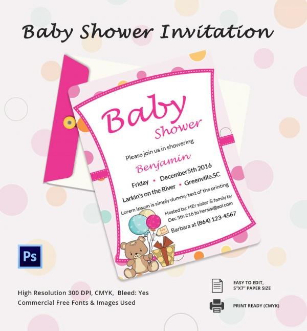 Baby Shower Invitation Card In Gujarati