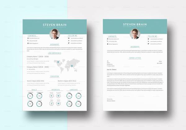 19 Accounting Resume Templates  PDF DOC  Free  Premium Templates
