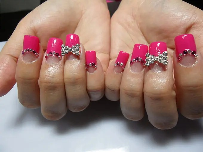 Amazing Acrylic Nail Art Design 3d