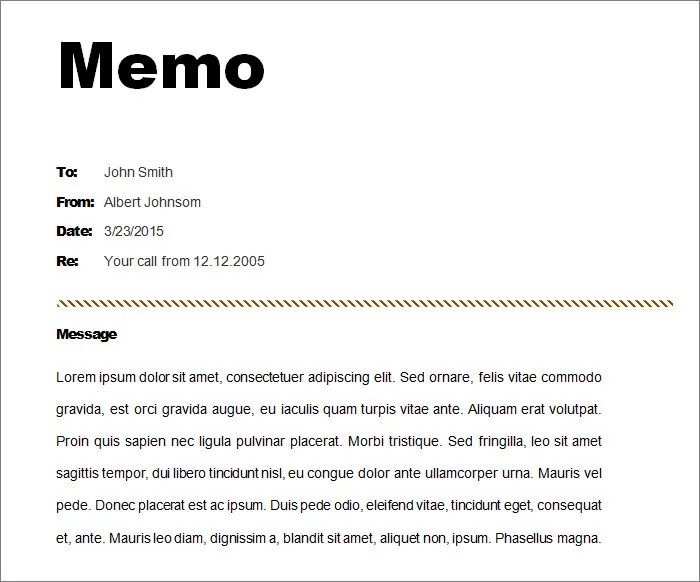 Image Titled Make Image Of Page 1 How Make Memo Example