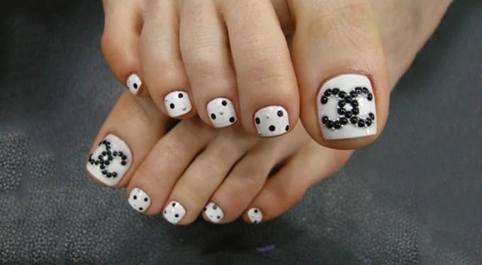 Cute Summer Toe Nail Design