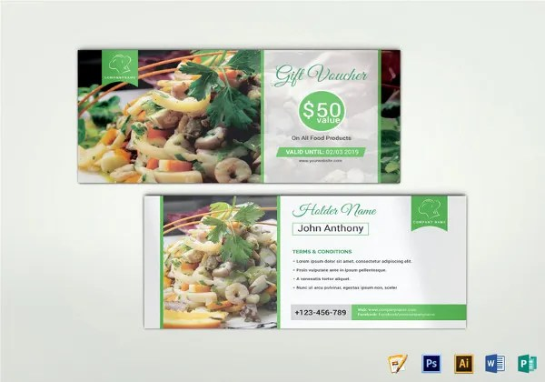 27 Blank Coupon Templates Psd Word Eps Ai Indesign Free