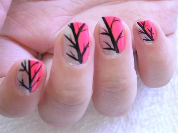 Nail Polish Design Idea For Short Nails