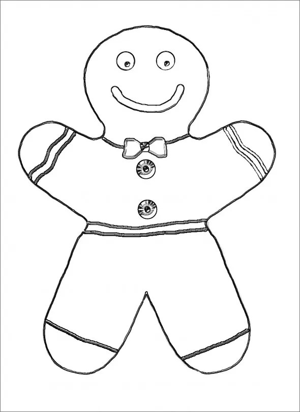 printable gingerbread man template That are Irresistible