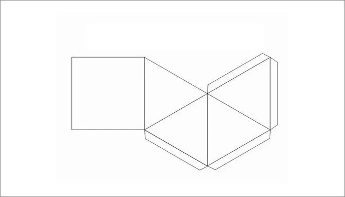 rectangle box template