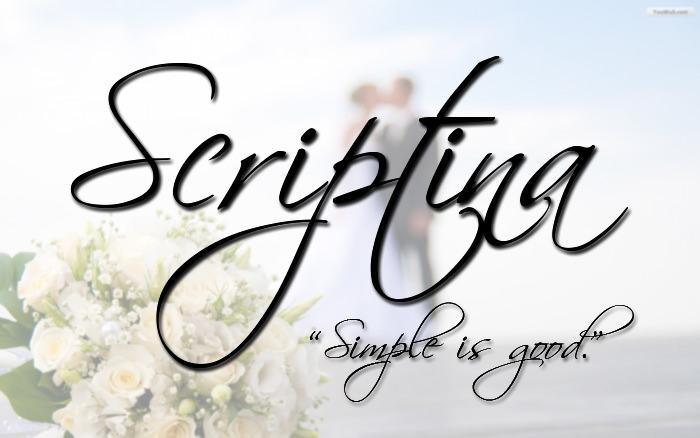 Scriptina Free Font