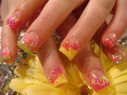 acrylic nail design & ideas